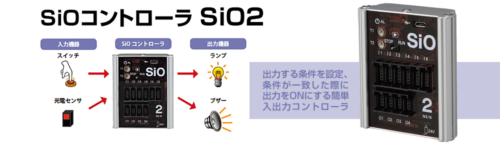 SiOコントローラ SiO2